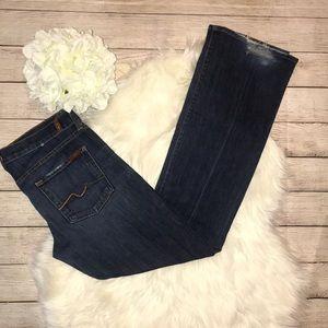 7FAM Bootcut Denim Jeans LONG